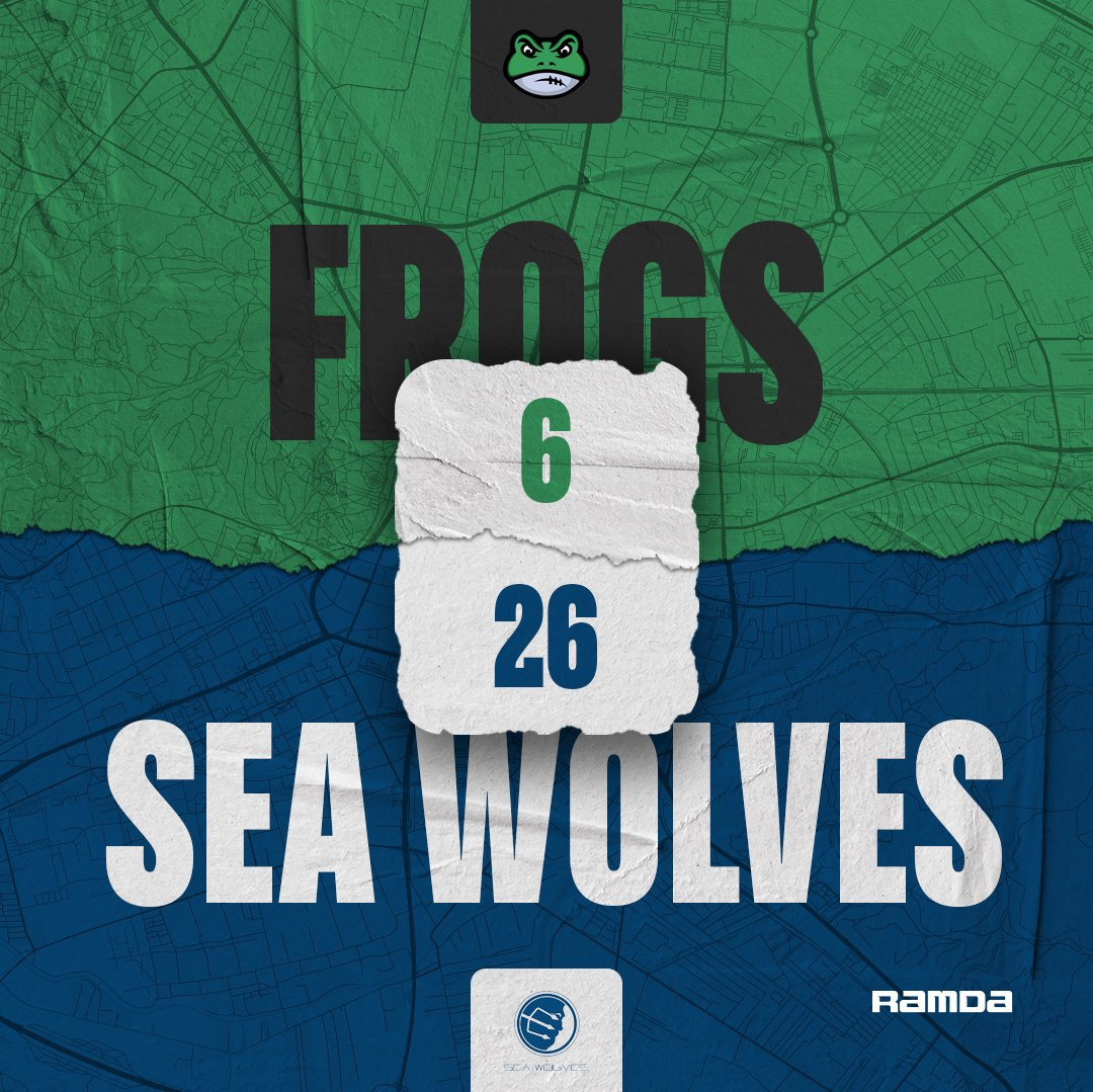 Frogs losses first game in the Errea Bowl