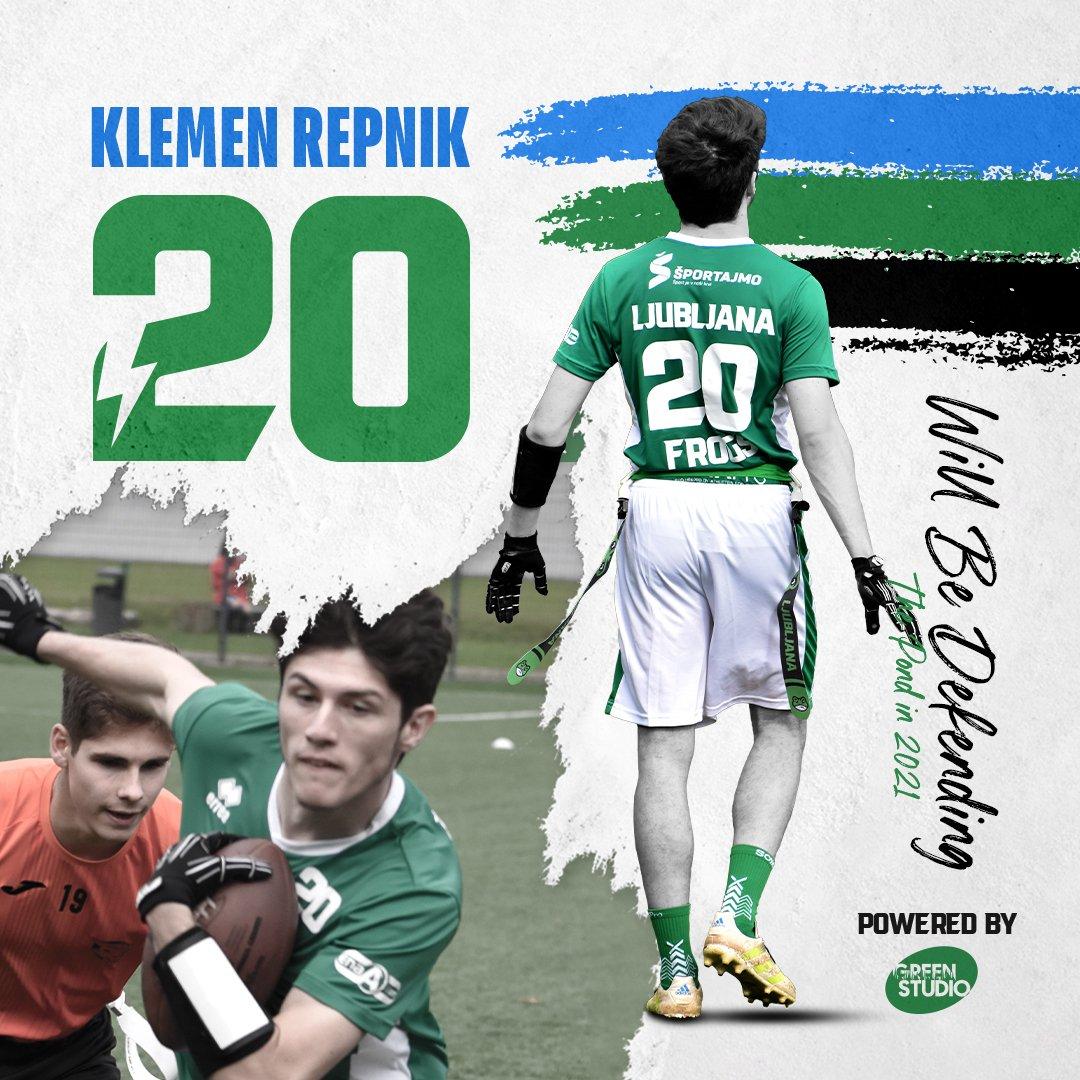 Klemen Repnik will be defending the pond in 2021
