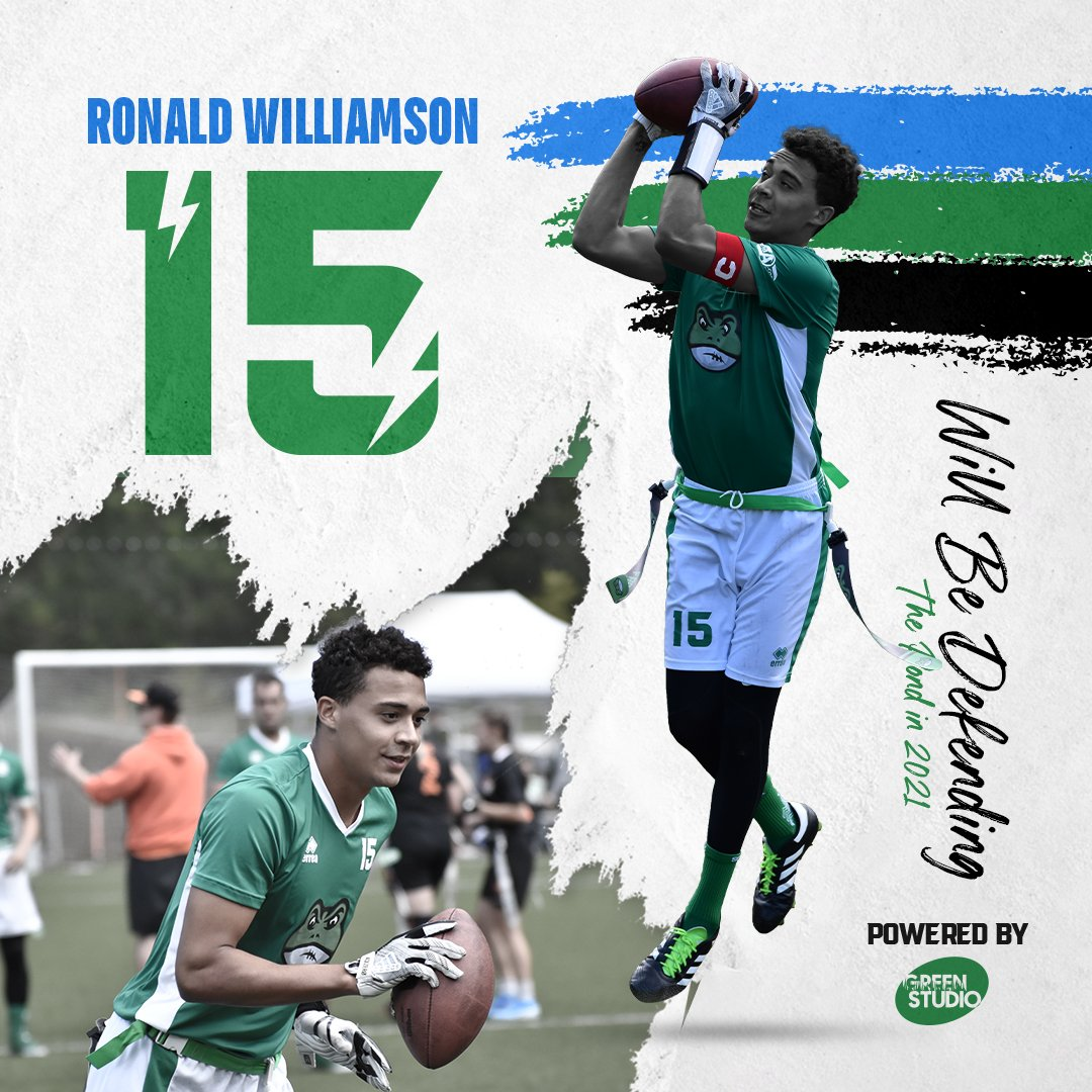 Ronald Williamson will be defending the pond in 2021