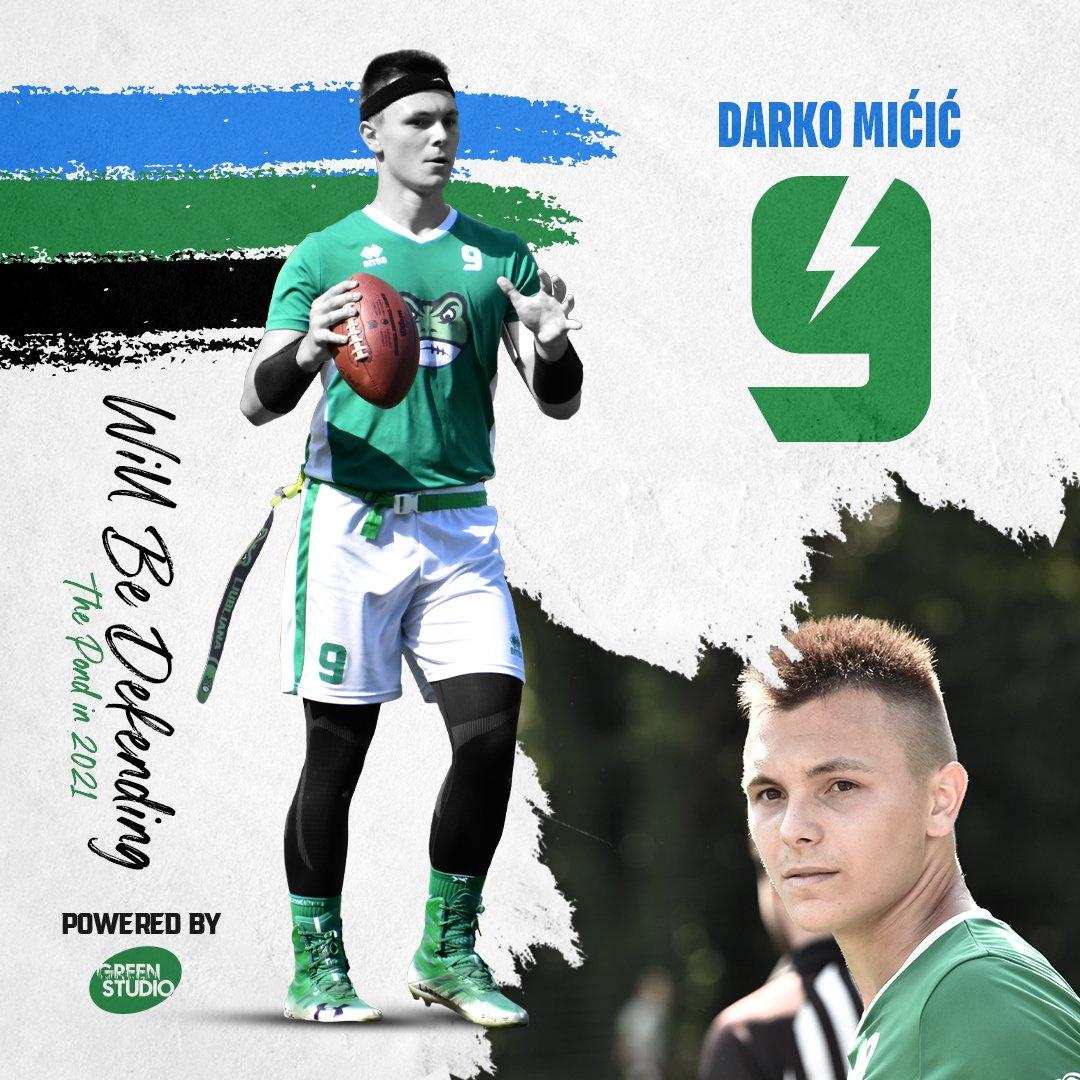 Darko Mićić will be defending the pond in 2021