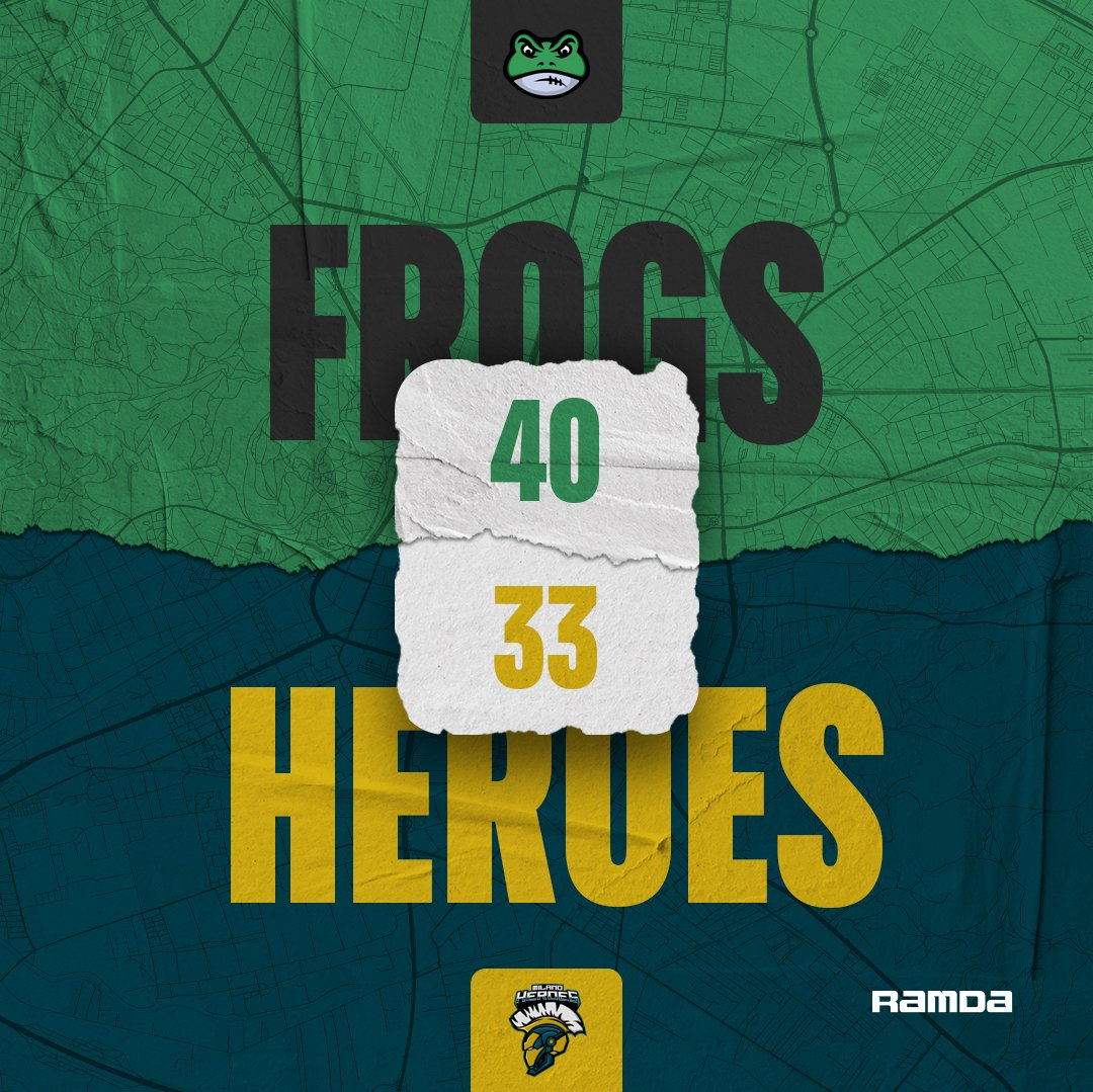 Frogs go 3-1 with a win against the Heroes