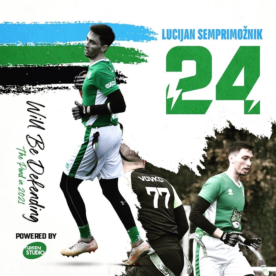 Luc Semprimožnik will be defending the pond in 2021