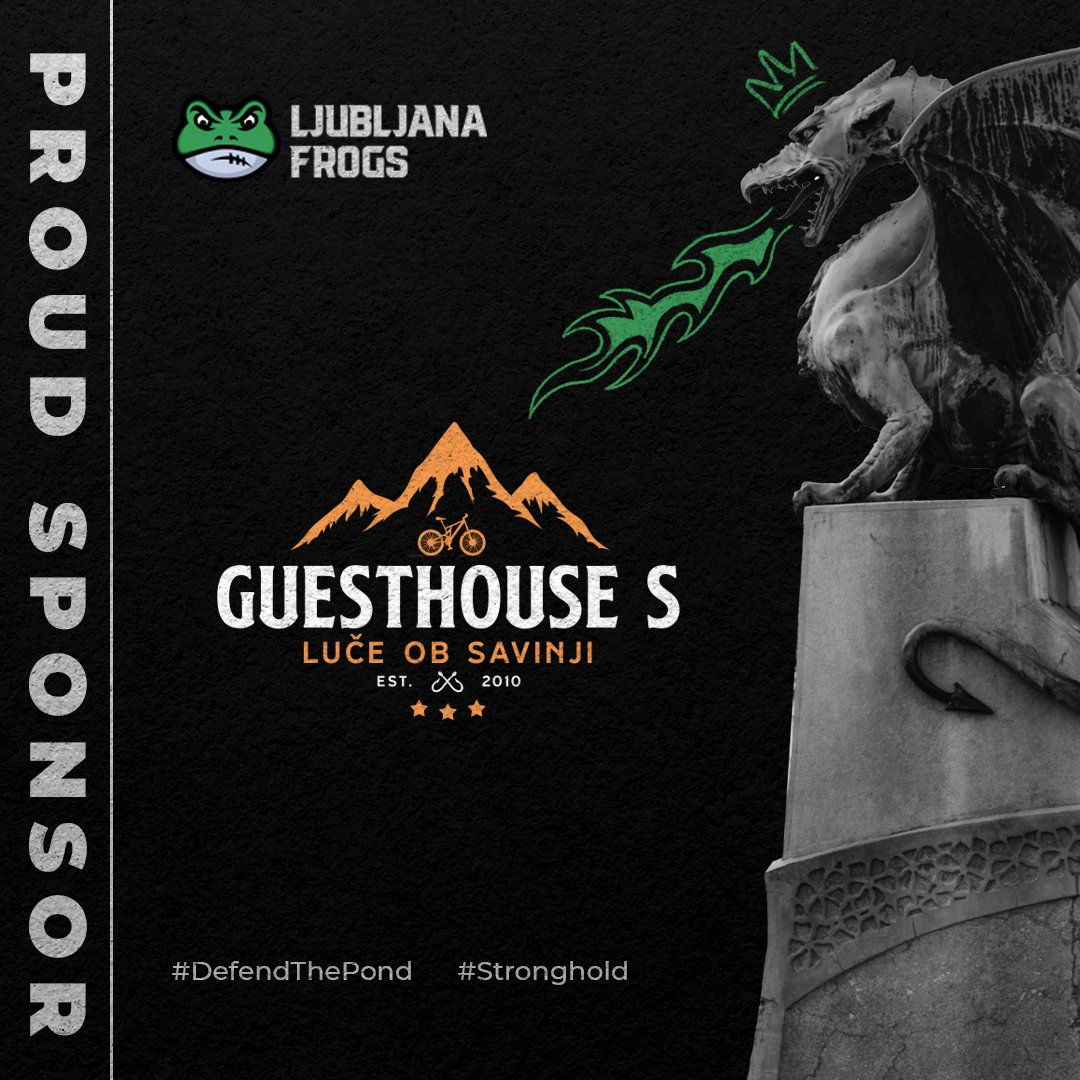 GuesthousesS and Ljubljana Frogs together in 2021