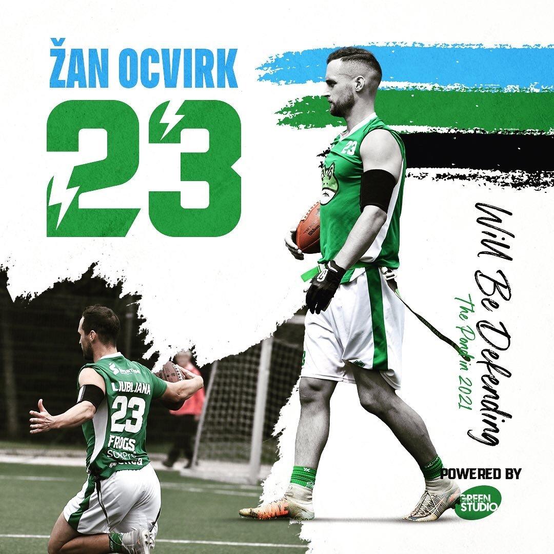 Žan Ocvirk will be defending the pond in 2021.
