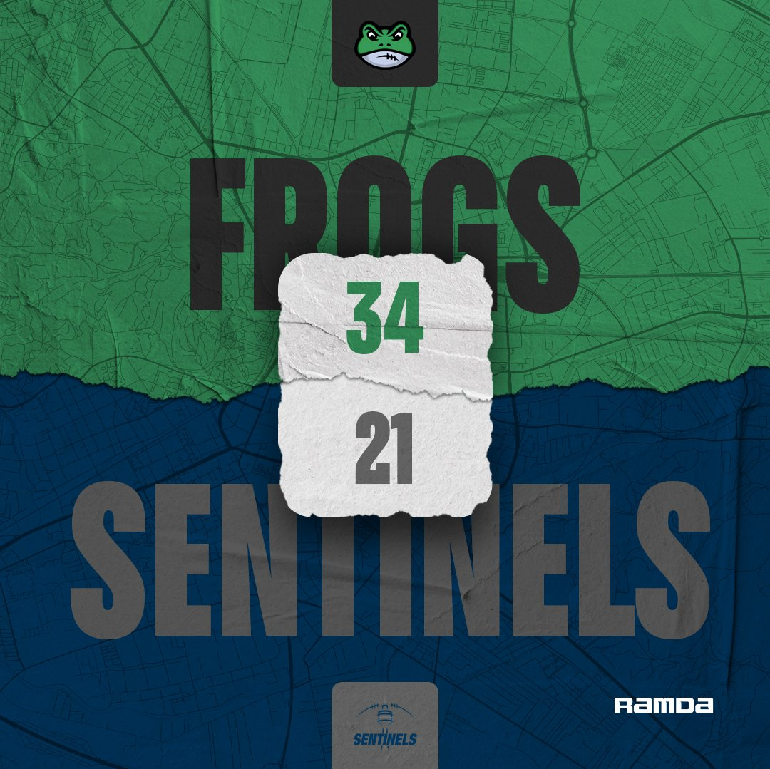 Frogs with the win in the last game
