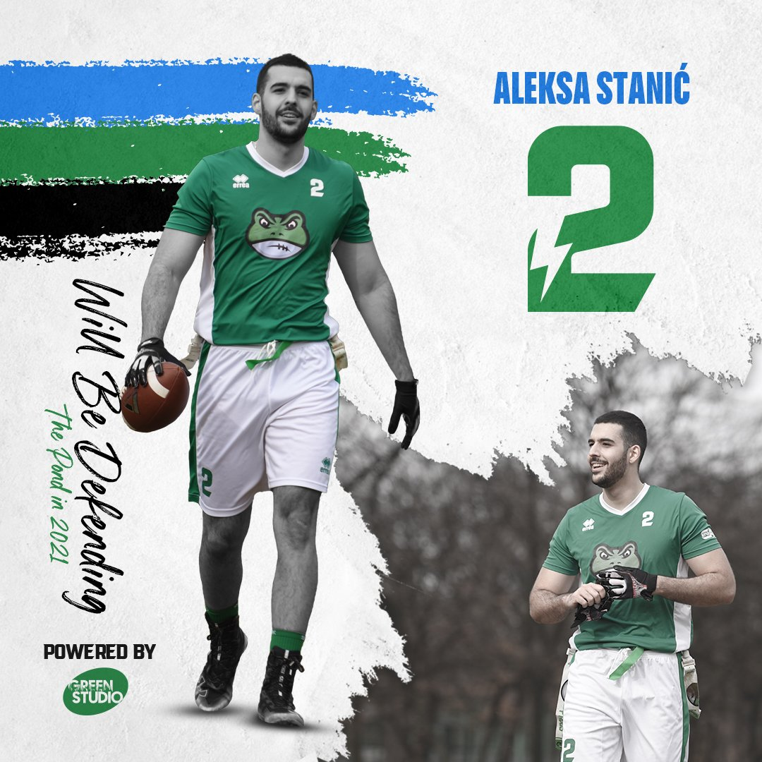 Aleksa Stanić will be defending the pond in 2021