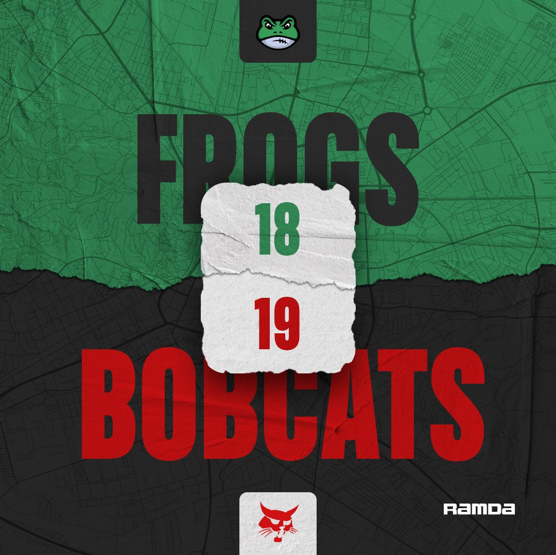 Frogs lost in the thriller against Bobcats