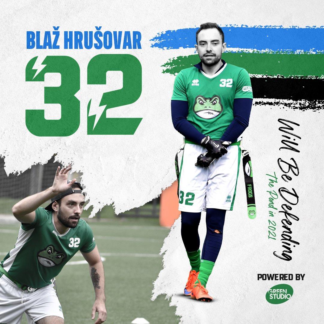 Blaž Hrušovar will be defending the pond in 2021