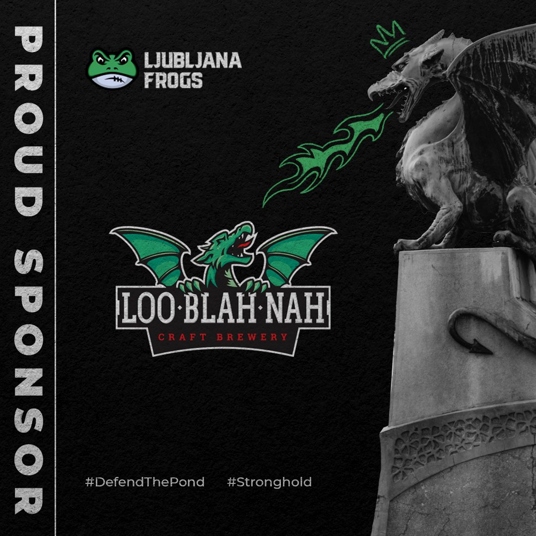 Looblahnah local craft brewery supporter of local Frogs