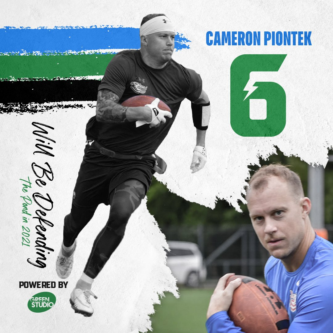 Cameron Piontek will be defending the pond in 2021