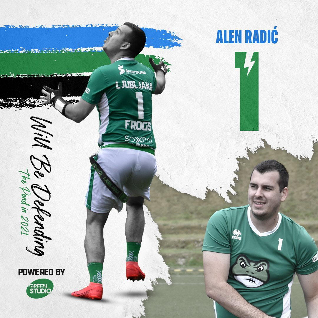 Alen Radić will be defending the pond in 2021