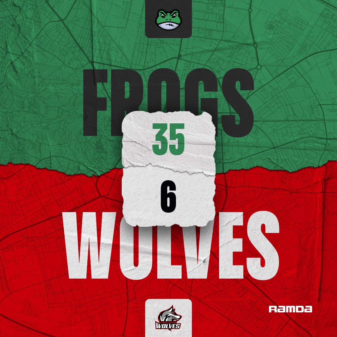 Frogs beat the Wolves in game 6