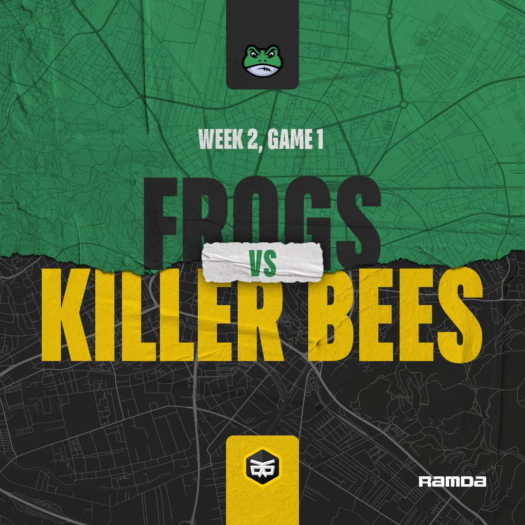 Frogs are facing Killerbees in a SFFL clash