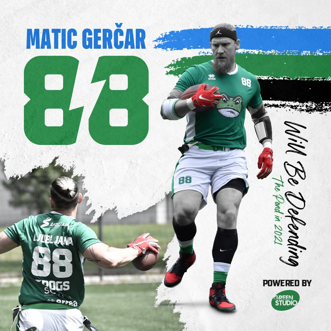 Matic Gerčar will play another season with Frogs