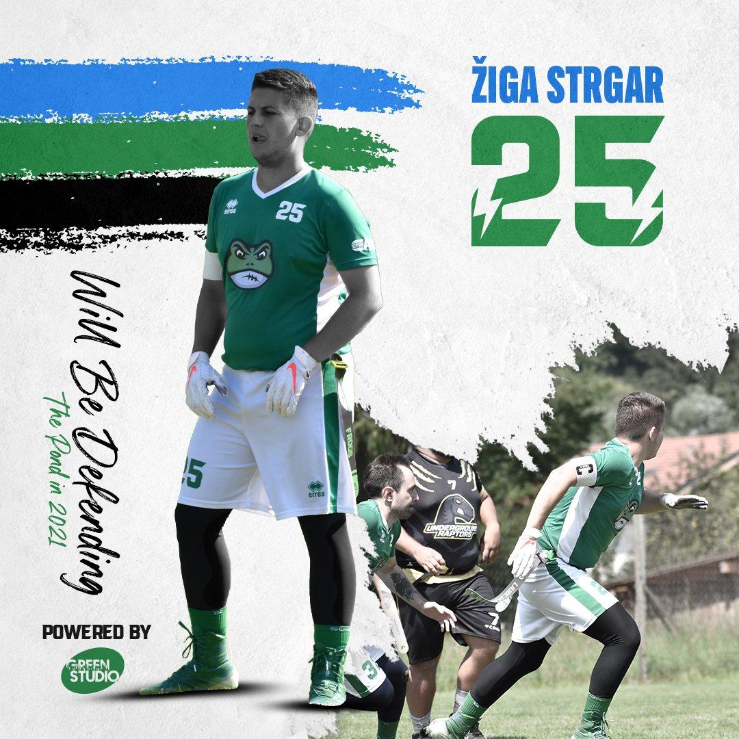 Žiga Strgar will be defending the pond in 2021