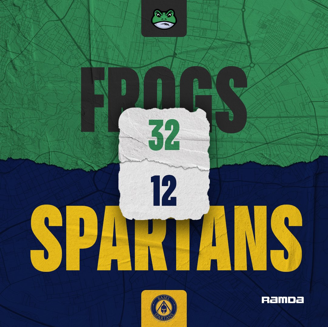 First game of the Errea bowl with the win of Ljubljana Frogs