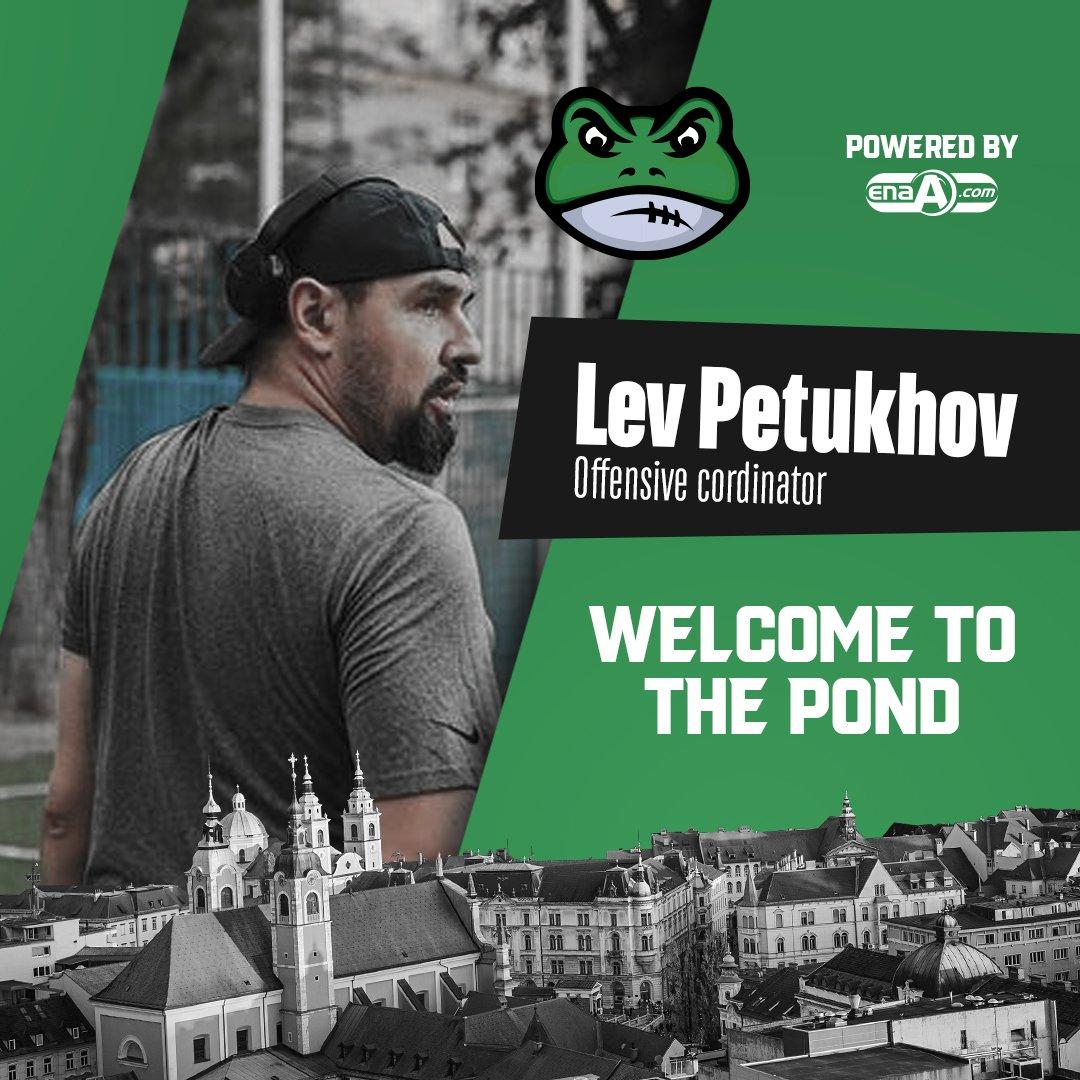 Lev Petukhov becomes Offensive coordinator for Ljubljana Frogs